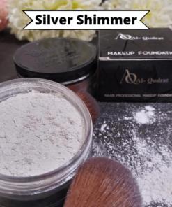 Makeup Silver Shimmer